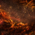Hot galaxy inside view of the Stock Photography