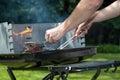 Hot glowing coal Royalty Free Stock Photo