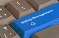 Hot key for billing management Royalty Free Stock Photo