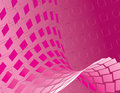 Hot Pink Abstract Background Stock Image
