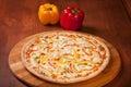 Hot Pizza Royalty Free Stock Photo