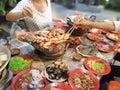 Hot Pork Shop in Bangkok