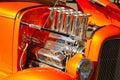Hot Rod Engine 2 Stock Photography