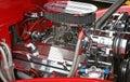 Hot rod engine Royalty Free Stock Photo