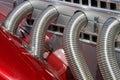 Hot rod engine Royalty Free Stock Images