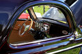 Hot Rod Interior Stock Photography