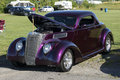 Hot rod napierville dragway august picture of vintage during car show at john scotti all out event Royalty Free Stock Photography