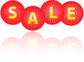 Hot sale icons Royalty Free Stock Photos