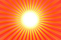 Hot Shining Summer Sun Royalty Free Stock Photo