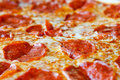 Hot Sliced Pepperoni Pizza Royalty Free Stock Image