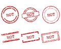 Hot stamps detailed and accurate illustration of Royalty Free Stock Images