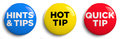 Hot Tip Royalty Free Stock Photo