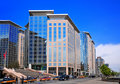 Hotel in Beijing Chang An Avenue Stock Photography