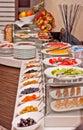 Hotel breakfast Royalty Free Stock Photo