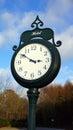 Hotel clock Royalty Free Stock Photo
