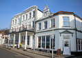 Hotel continental photo of seafront based in whitstable kent taken on th april photo ideal for period architecture edwardian Royalty Free Stock Photo