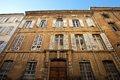 Hotel de barlet circa xviii c aix en provence france building of Stock Photography