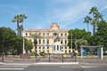 Hotel de ville cannes france Royalty Free Stock Photography
