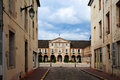 Hotel de ville city hall in beaune burgundy france Royalty Free Stock Images