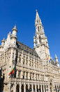 Hotel de Ville (City Hall) of Brussels, Belgium Stock Photography
