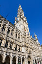 Hotel de Ville (City Hall) of Brussels, Belgium Royalty Free Stock Photography