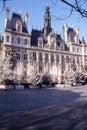 Hotel de ville de Paris Royalty Free Stock Photo