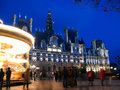Hotel de Ville, Paris, 02, France Stock Photos