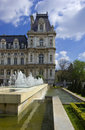 Hotel de Ville, Paris, France Photo stock