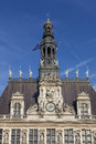Hotel de ville paris ile france france Stock Photography