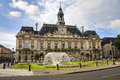 Hotel de Ville in Tours Royalty Free Stock Photography