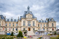 Hotel deville evreux picture of the townhall in the town france Stock Photos