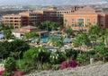 Hotel en Tenerife Imágenes de archivo libres de regalías