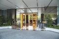 Hotel entrance. Royalty Free Stock Photo