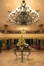 Hotel foyer Royalty Free Stock Photo