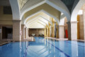 Hotel indoor swimming pool taken in china Stock Photography