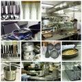 Hotel Kitchen Collage