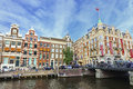 Hotel l europe amsterdam aug de on aug in a five star located on the amstel river in the centre of the Stock Photography