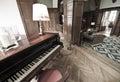 Zariadenie poskytujúce ubytovacie služby a klavír