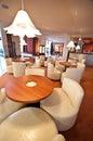 Hotel lounge bar Royalty Free Stock Photo