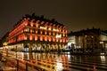 Hotel Louvre, Paris Royalty Free Stock Photo