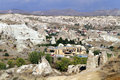 Hotel near gereme in cappadocia turkey Stock Images