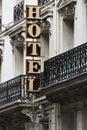 Hotel, Paris, France Royalty Free Stock Photo