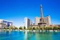 Hotel Paris in Las Vegas Royalty Free Stock Photo