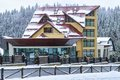 Hotel in poiana brasov romania mountain ski resort the best romanian ski resort Royalty Free Stock Photography