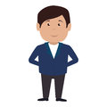 hotel receptionist character icon