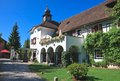 Hotel resort portschach austria am worthersee Stock Photo