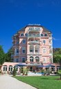Hotel resort portschach austria am worthersee Royalty Free Stock Images