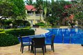 Hotel Resort Swimming pool Royalty Free Stock Photo