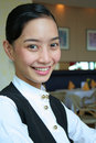 Hotel restaurant staff Royalty Free Stock Photo