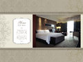 Hotel room luxury suite artwork tempate Royalty Free Stock Photo